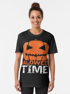 """HALLOWEEN"" T-shirt by ybouaabad | Redbubble Halloween, Mens Tops, T Shirt, Stuff To Buy, Fashion, Supreme T Shirt, Moda, Tee, Fashion Styles"