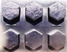 Make 100s of Hex Driveway Pavers for Pennies w/Thick 9x9 Paver Molds