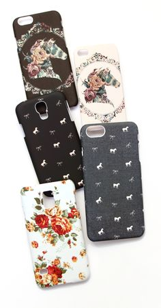 Equestrian inspired phone cases