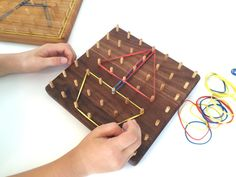 After CHRISTMAS Delivery All Natural Wood GeoBoard