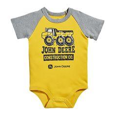 John Deere Infant Bodyshirt Construction Co. | RunGreen.com