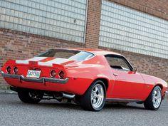 Toms favorite muscle car.. 1970 Camero
