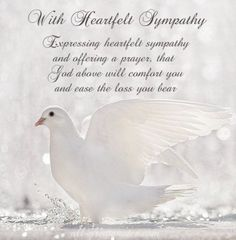 With Heartfelt Sympathy  http://www.all-greatquotes.com/