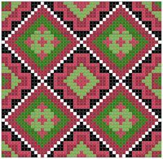 Tapestry Crochet Patterns, Lace Patterns, Cross Stitch Patterns, Knitting Patterns, Maori Patterns, Mochila Crochet, Beaded Cross Stitch, Crochet Purses, Crochet Chart