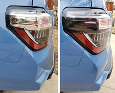 Easy DIY Blacked Out Housing upgrade to tail lights, for models, from Unique Style Racing, How to Blackout Tail Lights 4runner Accessories, Truck Accessories, Custom Trucks, Custom Cars, Toyota Four Runner, Toyota 4runner Sr5, Mini Trucks, Tail Light, Really Cool Stuff