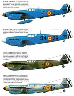 Buchon Luftwaffe, Ww2 Aircraft, Military Aircraft, Air Fighter, Fighter Jets, Ww Images, General Motors, Spanish Air Force, Aircraft Painting