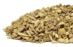 Dried Ginger Root - To make ginger tea, simmer 3/4 teaspoon (0.5 to 1.0 grams) of chopped ginger in 1 cup of hot water for five minutes in a closed teapot. from Mountain Rose Herbs