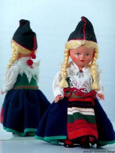 Swedish National Costume Doll