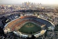 Dodgers Stadium-Tate can hardly wait to go to a game here! His dad has been to m-a-n-y games all over the US.