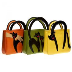 Accessorize Bags, Animal Bag, Denim Tote Bags, Cat Bag, Embroidery Bags, Cat Decor, Canvas Handbags, Cat Toys, Bag Making