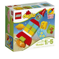 Kids' love creating with Lego and construction building toys. Shop Lego world and movie greats, like Ninjago, Marvel Avengers, DC Super Heroes, Disney and Duplo. Lego Duplo, Toddler Toys, Kids Toys, Large Building Blocks, Amazon Lego, Alphabet Magnets, Kids Alphabet, Thing 1, Cool Ideas