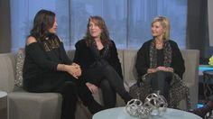 ONJ, Amy & Beth on Los Angeles Fox 11 re: Liv On Concert.