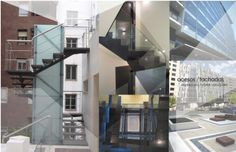 www.p76arquitectura.com How to adapt the old buildings to the Security Code requirements- Stairs- Elevators- ....