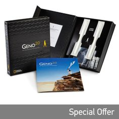 Geno 2.0 - Genographic Project Participation and DNA Ancestry Kit, Europe