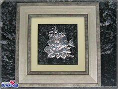 2007-06-16 _ Motivo de estaño enmarcado | por MANUALIDADES PINACAM