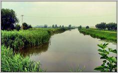 Il canale dei cuori nella campagna del Veneto