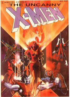 Uncanny X-Men Trade Paperback - Cover by Bill Sienkiewicz