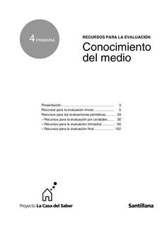Evaluaciones conocimiento del medio 4º by Profesora Geovanna via slideshare