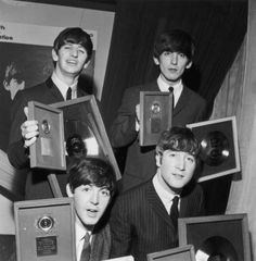 The Beatles with Meet the Beatles awards