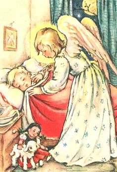 Ghost Of Christmas Past, Christmas Images, Vintage Christmas, Vintage Cards, Vintage Postcards, Vintage Images, Entertaining Angels, Angels Among Us, Guardian Angels