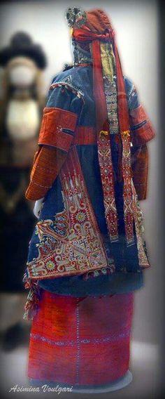 Greek Traditional Dress, Folk Costume, All White, Plaid Scarf, Greek Costumes, Bulgarian, Denim, Wedding Dresses, Roots
