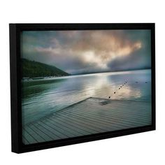 "ArtWall At Ease by Steve Ainsworth Framed Photographic Print on Wrapped Canvas Size: 24"" H x 36"" W"