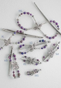 Lilla Rose Inc - Intricate soaring butterfly with purple-iris metallic beads that shimmer in the light. Loose Braids, Twist Braids, Purple Iris, Purple Butterfly, Fashion Accessories, Hair Accessories, Braided Half Up, Purple Accents, Rose Hair