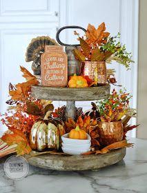 Fall Kitchen Decor, Fall Home Decor, Autumn Home, Halloween Kitchen Decor, Thanksgiving Decorations, Halloween Decorations, Fall Decorations, Fall Table Centerpieces, Seasonal Decor