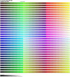 This is my favorite hex color list. It's at: http://aprendiendocss3.files.wordpress.com/2012/01/hex_colors.jpg
