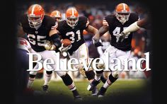 We have strong character because of Believeland. 25 Reasons Why Cleveland Is The Best Go Browns, Browns Fans, James Ferraro, Cleveland Browns Wallpaper, Brian Hoyer, Brown Image, Strong Character, Mothers Day Crafts For Kids, Football Conference