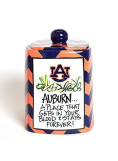 Auburn Canister or Cookie Jar