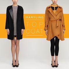 Top Coat #top #coat #AW14 #black #yellow #mustard #minimal #urban #autumn #luxe #brown