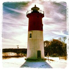 """Nauset Lighthouse, Eastham, MA"""
