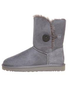 UGG Boots - Shop here > http://www.surfstitch.com/eu/en/product/ugg-bailey-button-boot-grey #UGG #uggaustralia #boots #autumn #winter #footwear