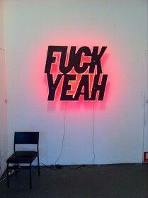 In neon alla Tracy Emin