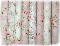 I ♡ this fabric....Durham Rose Shabby Chic Quilt Fabric