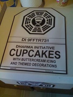 Dharma Initiative Cupcakes!
