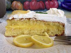 Γεμιστό κέικ λεμονιού με κρέμα λεμονιού (lemon curd)! Cake Cookies, Cupcakes, Fruit Pie, Lemon Curd, Vanilla Cake, Chocolate Cake, Cooking Recipes, Sweets, Yummy Yummy