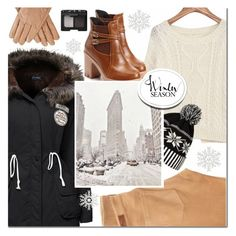 """""""Sweater Weather"""" by mada-malureanu ❤ liked on Polyvore featuring AG Adriano Goldschmied, WithChic, NARS Cosmetics, wintersweater and plus size clothing"""