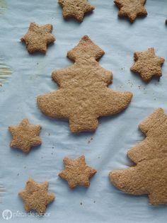 Galletas integrales de canela. Se usa harina de trigo integral en toda la receta para una versión más saludable, perfectas para el antojo de algo dulce.