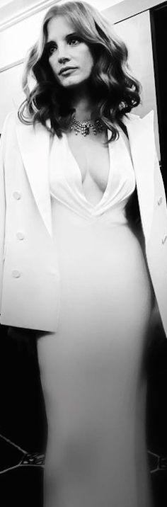 Jessica Chastain in Ralph Lauren