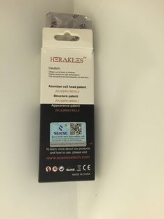 Senses Herakles Ni200 (Nickel) coils (5pk.) - e Clear Smoke