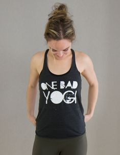 For you yoga renegades who indulge in the occasional burger, have never been to a shakti dance class, and admit to not always knowing your asana from your elbow. Cheers to your open mind and open arms to the unique and dedication to your own badass brand of yoga. You are One Bad Yogi, and girl, we l
