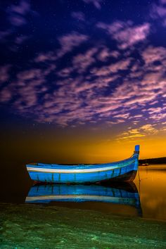 Alone at night by Emanuel Fernandes via 500px. Portugal
