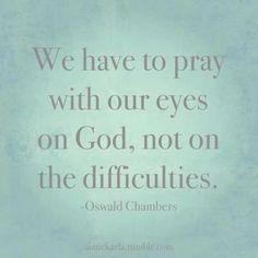 Prayer - Oswald Chambers