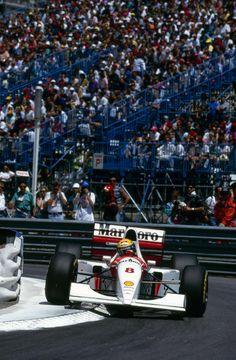 1993 Monaco Grand Prix McLaren MP4/8 Ayrton Senna