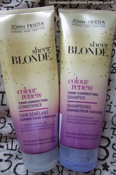 john frieda purple shampoo and conditioner