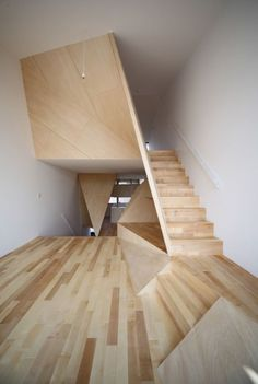 *interior design, architecture, wooden modern interiors, stairs* Awesome