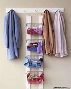Organiser les petits accessoires de l'hiver (gants et bonnets