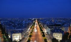 """parisbeautiful: """"Champs Elysees by Simon Sautner on Flickr. """""""